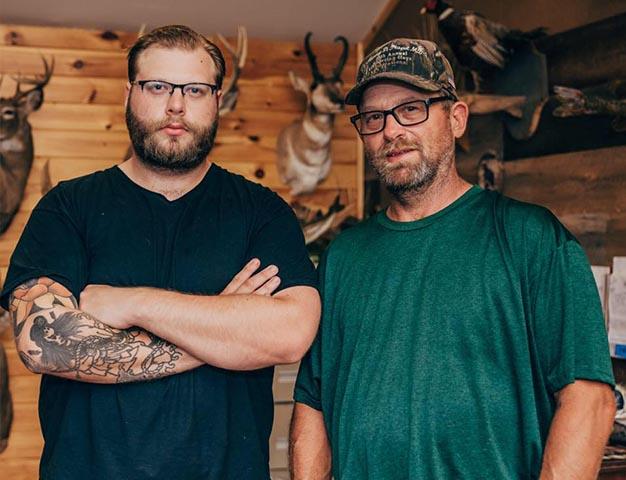 The Guys from Holeva's Wildlife Artistry